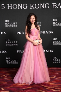 Chairman of The 2015 Hong Kong Ballet Ball Gala Committee Maya Lin