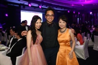 Chairman of The 2015 Hong Kong Ballet Ball Gala Committee Chairman Maya Lin, Adrian Cheng & Jennifer Cheng