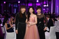Jenny Tam, Chairman of The 2015 Hong Kong Ballet Ball Gala Committee Maya Lin & Jacqueline Leung