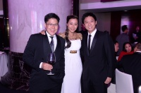 Kenneth Fok, Flora Zeta Cheong-Leen and Eric Fok