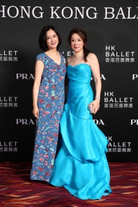 Janice Chan Choy and friend