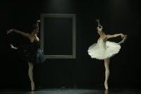 White vs Black | Dancers (From Left): Ge Gao and Zhi-yao Chen